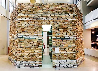 Cool Things Made Of Books Or More Uses For Unwanted Dan