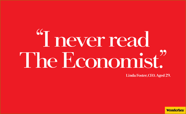 Wonderbra Economist Ad (2/2)