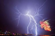 Perth Lightning Strike