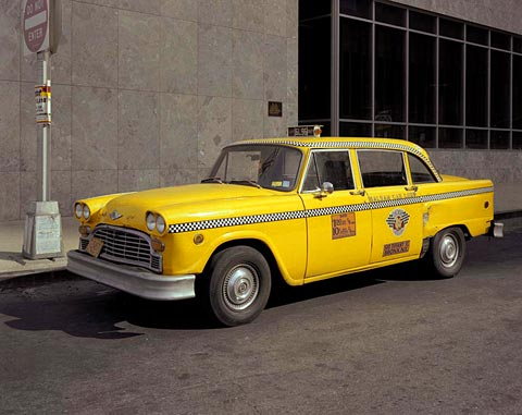 Turning first to the new york cab if you have been to new york you